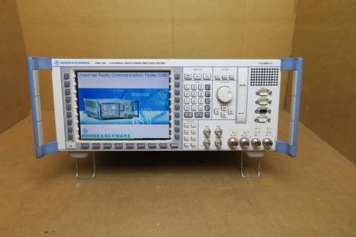 Rohde & Schwarz CMU 200 Radio Communication GSM WCDMA Tester 1100.0008 02